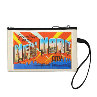 New York City New York NY Vintage Travel Souvenir Change Purse