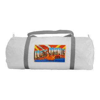 New York City New York NY Vintage Travel Souvenir Duffle Bag