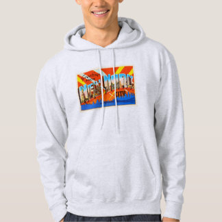 New York City New York NY Vintage Travel Souvenir Hoodie