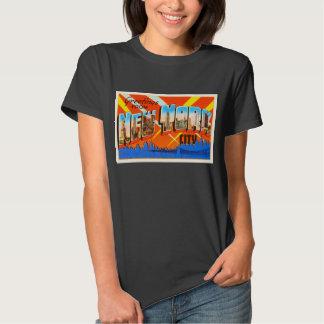 New York City New York NY Vintage Travel Souvenir Tee Shirt