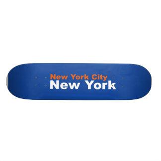 New York City, New York Skateboard