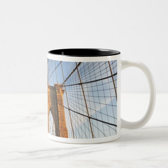 New York City, New York Two-Tone Coffee Mug