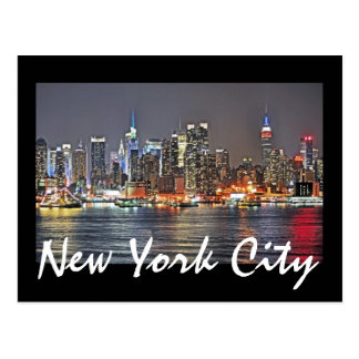 New York City, New York, USA Postcard