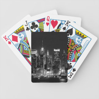 New York City Night Bicycle Playing Cards