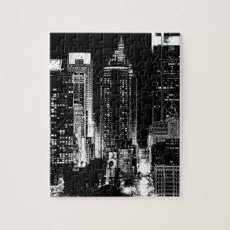 New York City Night Jigsaw Puzzle