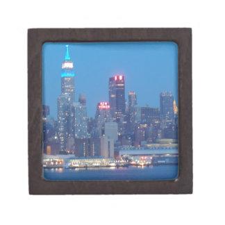 new york city night premium trinket boxes