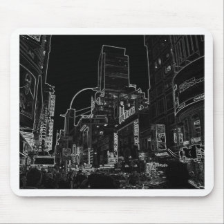 New York City Night Scenes IV - CricketDiane Mouse Pad