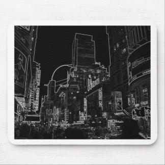 New York City Night Scenes IV - CricketDiane Mousepads