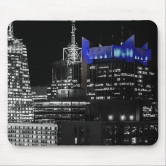 New York City Night Skyline Mousepads