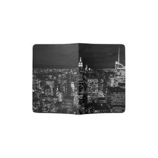 New York City night skyline Passport Holder