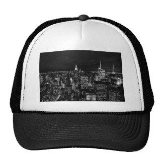 New York City Night Skyline Trucker Hat