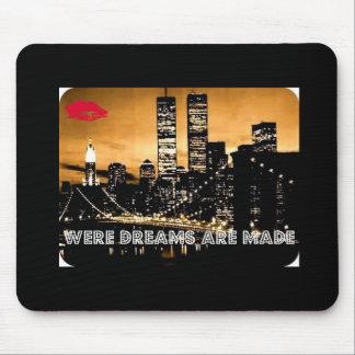 New_York_City_Night Alfombrillas De Raton