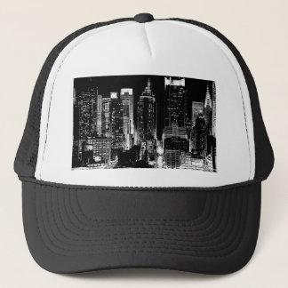New York City Night Trucker Hat
