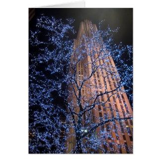 New York City Night Walk CricketDiane Card