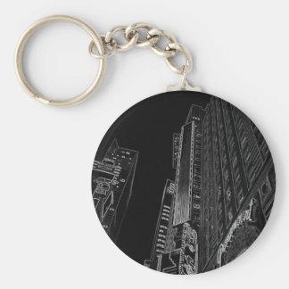 New York City Nights WalkAbout Photo Art Keychains