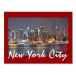 New York City, Nueva York, los E.E.U.U. Tarjetas Postales