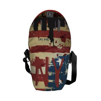 New York City , NY American Cities CityScape Bag Courier Bag