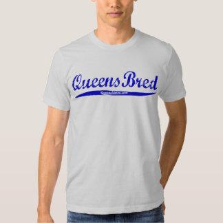 - New York City NY - letras azules criadas Queens Poleras