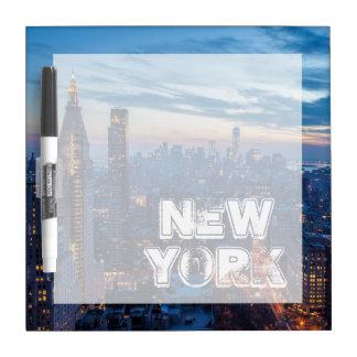 New York City, NY, los E.E.U.U. Pizarras Blancas De Calidad