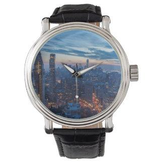 New York City, NY, los E.E.U.U. Relojes