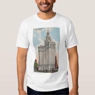 New York City NY Municipal Building Shirt