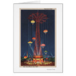 New York City, NY - Parachute Jump at World's Card