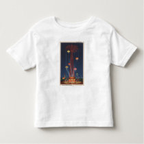 New York City, NY - Parachute Jump at World's Toddler T-shirt