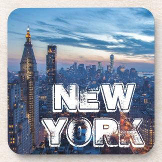 New York City, NY, USA Drink Coaster