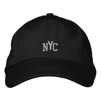 NEW YORK CITY, NY USA EMBROIDERED BASEBALL CAP