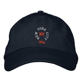 NEW YORK CITY, NY USA EMBROIDERED HATS