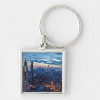 New York City, NY, USA Keychain