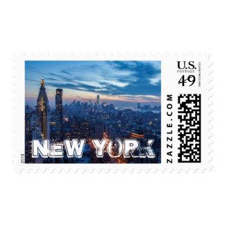 New York City, NY, USA Postage