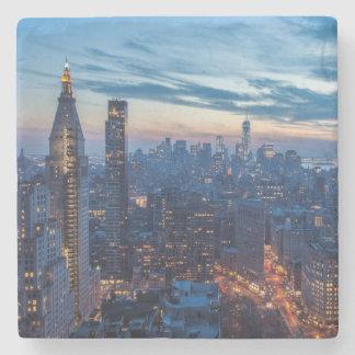 New York City, NY, USA Stone Coaster