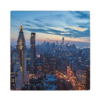 New York City, NY, USA Wooden Coaster