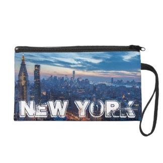New York City, NY, USA Wristlet Purse