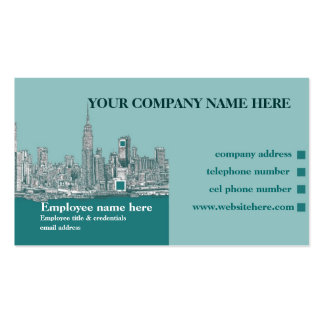 New York City NYC Business Card