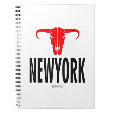 USA Themed New York City NYC by VIMAGO Notebook