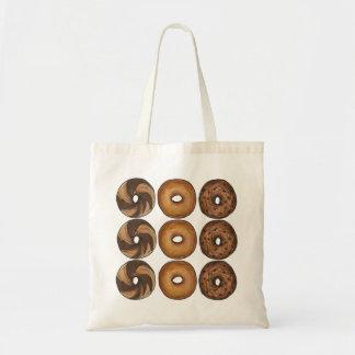 New York City NYC Deli Breakfast Bagels Tote Bag