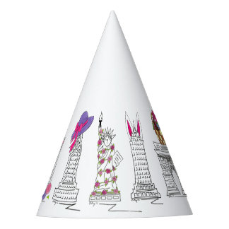 New York City NYC Easter Parade Landmarks Party Hat