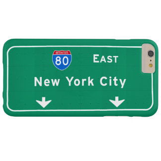 New York City NYC Interstate I-80 East Highway Barely There iPhone 6 Plus Case
