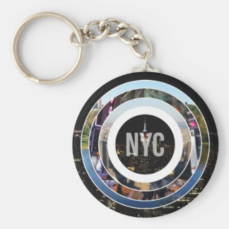 New York City NYC Keychain