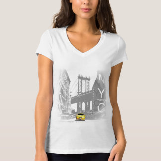 New York City Nyc Living Yellow Taxi Pop Art T-Shirt