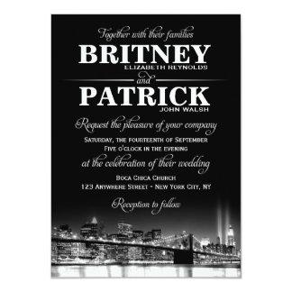 New York City NYC Skyline Wedding Invitations