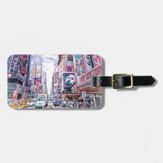 New York City NYC Travel Customizable Name Bag Tag