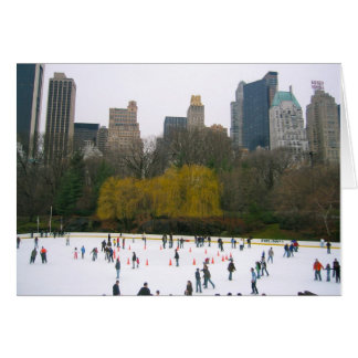 New York City NYC Wollman Ice Rink Christmas Cards