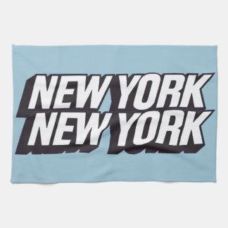 New York City Toallas De Cocina