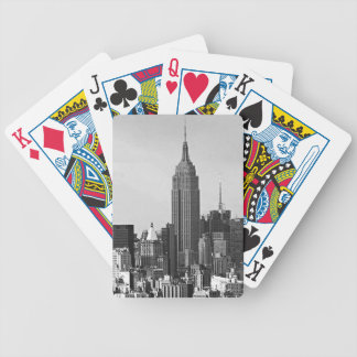 New York City Panorama Bicycle Playing Cards