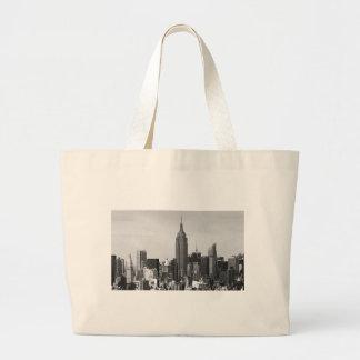 New York City Panorama Jumbo Tote Bag