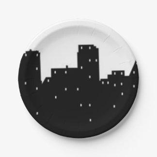 New York City Paper Plate