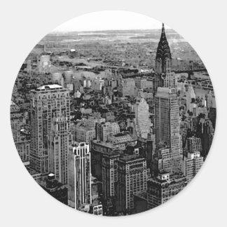 New York City Pegatinas